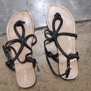 Merona Braided Strappy Sandals